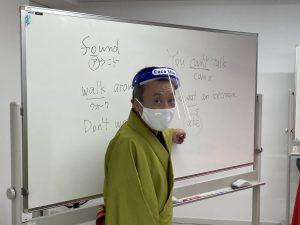 英語塾ではありません。今回『動物園』ENGLISHバージョンに挑戦する塾生さんへのご指導。
